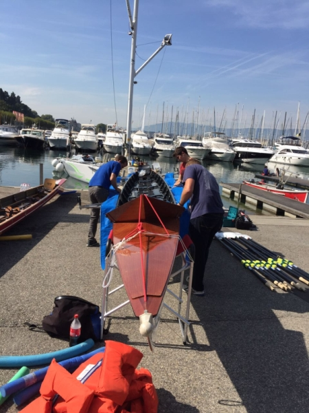 Genfer See Regatta Boot 2017