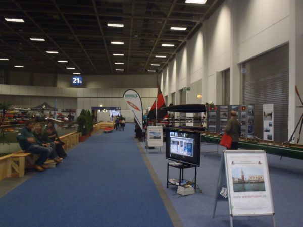 Messestand Rudern Boot und Fun 2014